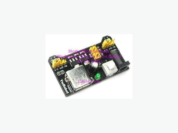 3.3V 5V Breadboard Power Supply Module for Arduino, Raspberry