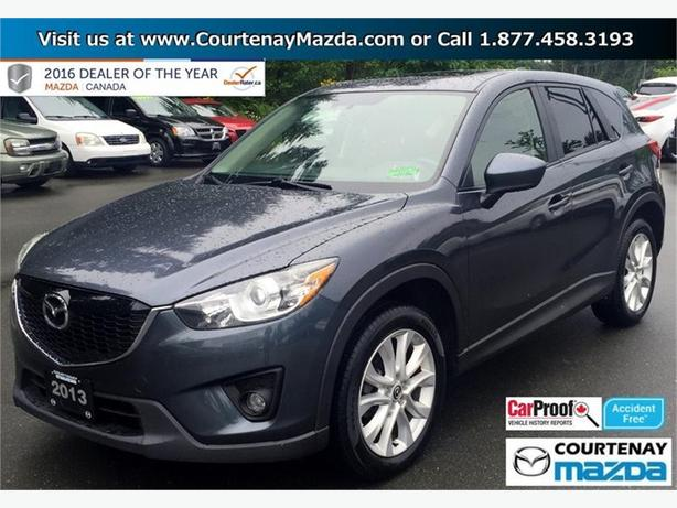 2013 mazda cx 5 gt awd at outside comox valley courtenay. Black Bedroom Furniture Sets. Home Design Ideas