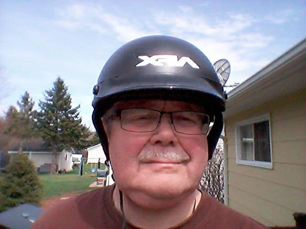 Men's AFX Motorcycle Helmet w/Visor