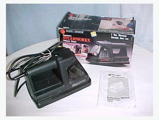 Black & Decker Steamworks Wallpaper Stripper Steamer Remover~Box~Model 1200