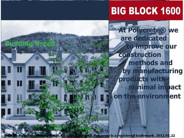 Polycrete® Big Block ICF