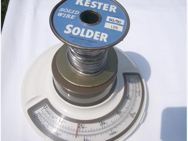 solder kester 50/50  .125 inch