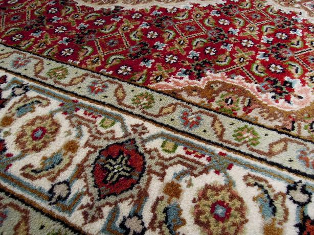 Handknotted Wool Amp Silk Persian Rug 3 5 X 5 Central