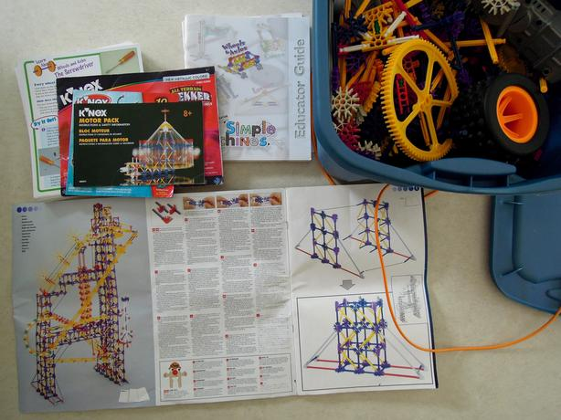 "K'Nex ""Simple Machines"" Giant Educational Building Set #79520"