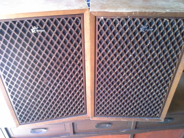 Sansui SP -55A speakers