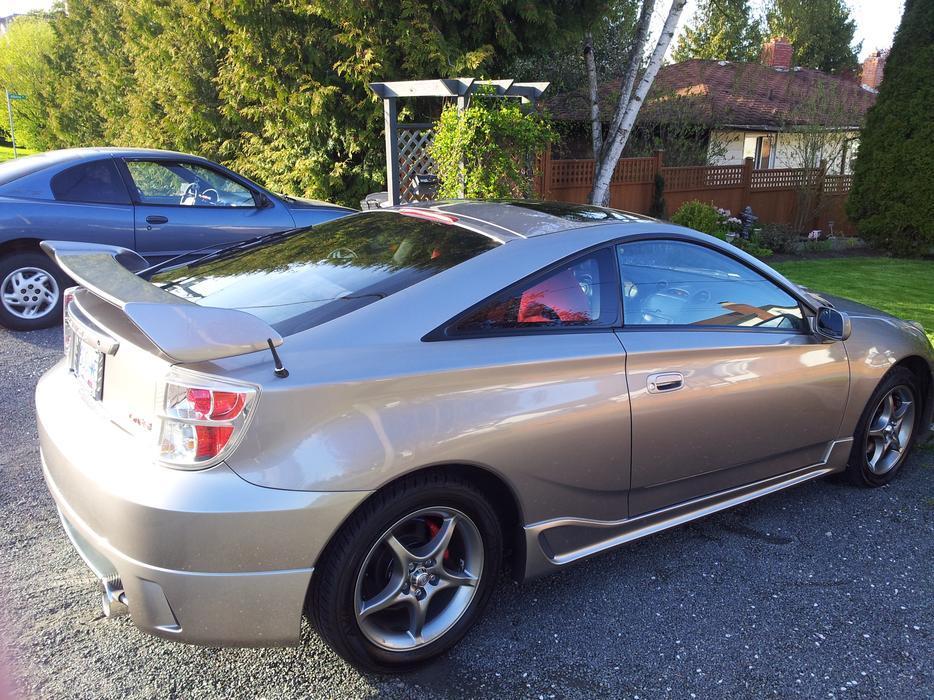 Rare 2005 Toyota Celica Gt S Tsunami Edition 1 Of 51