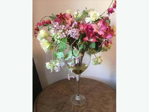 Tulip and Flower Centerpiece