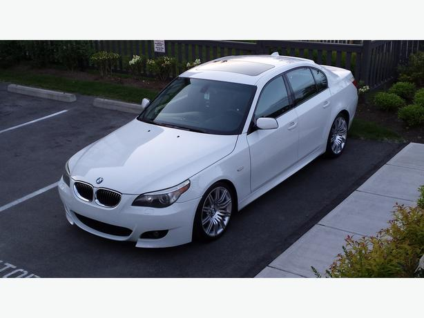 2007 BMW 550I M-SPORT 068,000 KMS EXECUTIVE PACKAGE Surrey (incl. White Rock), Vancouver - MOBILE