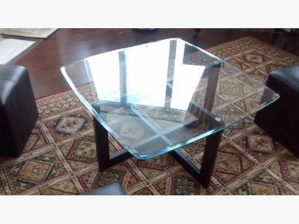 Glass Coffee Table With Ottomans Nepean Ottawa