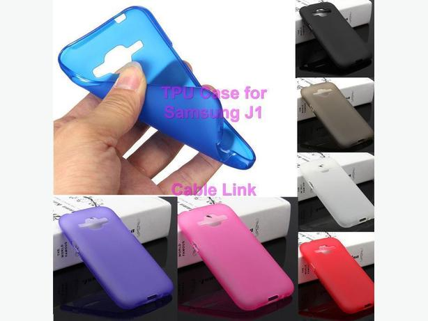 Soft TPU Gel Silicone Case Cover For Samsung Galaxy J1 J100 J120