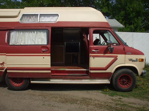 1980 Gmc Vandura Camper Van Central Regina Regina