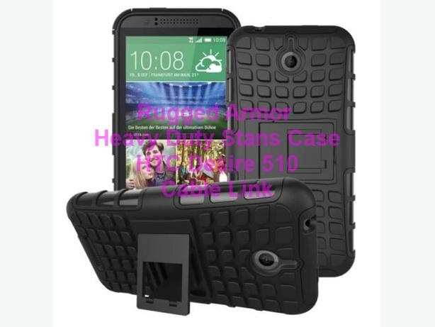Rugged Armor Heavy Duty Impact Hybrid Case For HTC Desire 510