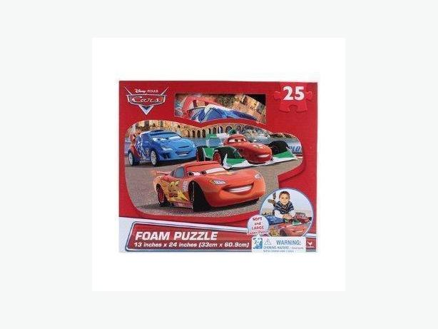 DISNEY CARS GIANT FOAM FLOOR PUZZLE