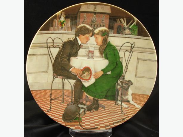 Valentines Day Collector Plate