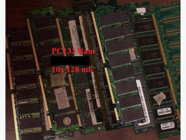 10x 128 MB PC133 Desktop RAM.