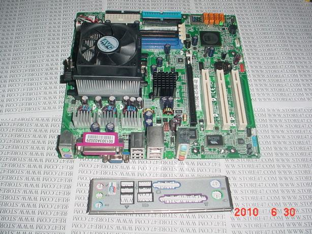 MS-7283 Socket AM2 Motherboard with 2.2 GHz AMD Athlon 64 3500+ Processor