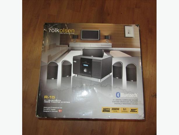 NEW ROLKOLSEN R-15 BLUETOOTH 5.1 HOME THEATER STEREO SYSTEM