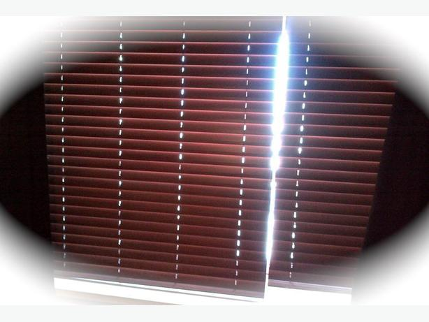 Blinds HUNTER Douglas Brown Horizontal Blinds