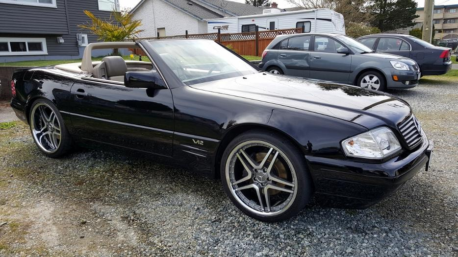 1996 mercedes benz sl600 lowered price saanich victoria for Mercedes benz bay ridge