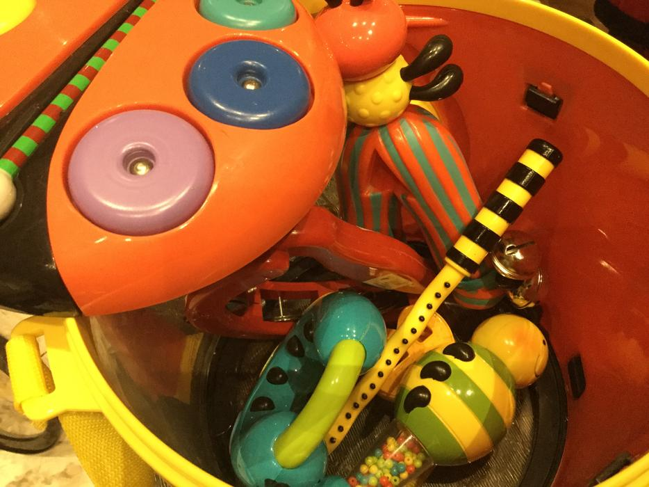 Parents Magazine Bee Bop Band Play & Learn Drum ...