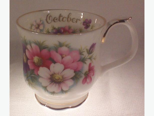 Royal Albert October Cosmos mug