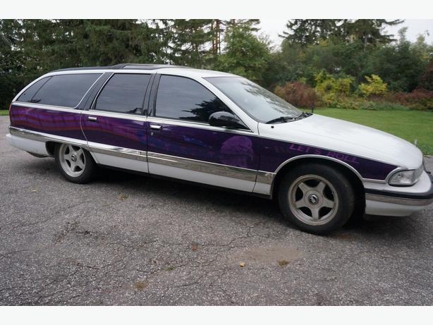1995 Buick Roadmaster Estate Wagon Custom Paint Job