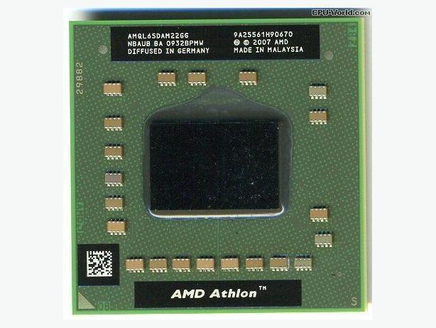 2.1 GHz AMD Athlon 64 X2 QL-65 Dual Core Processor