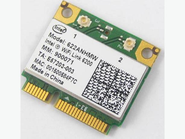Intel Centrino Advanced-N 6200 card + WIDI