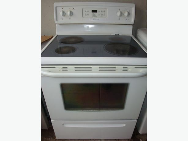 Flat Top Stove ~ Frigidaire flat top stove with self clean oven central