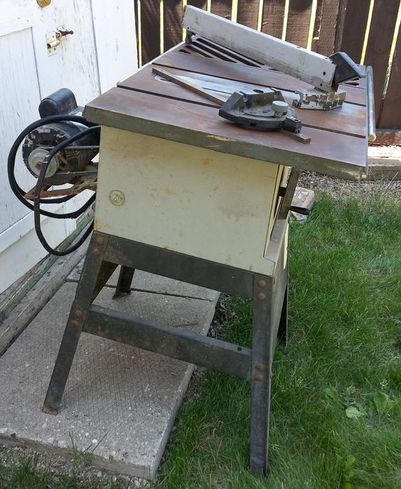 Table Saw Rockwell Beaver 9 Inch 1 Hp Motor North Regina Regina