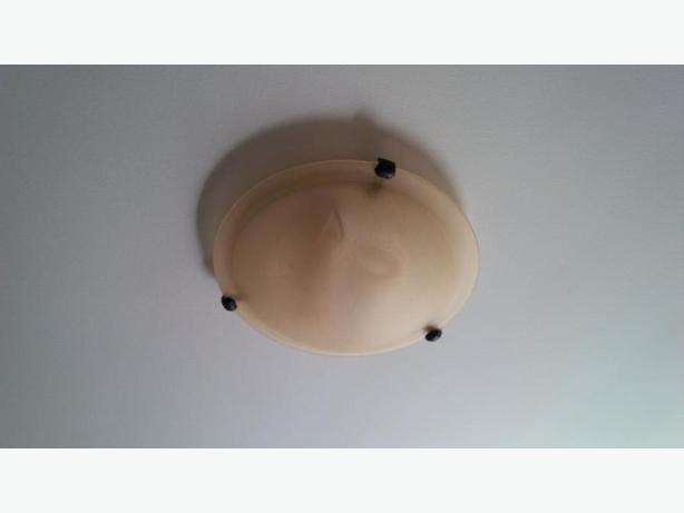 Great for the cottage - 3 flush mount light fixtures
