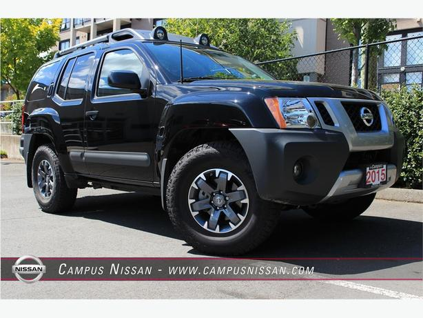 2015 nissan xterra pro 4x limited outside nanaimo parksville qualicum beach mobile. Black Bedroom Furniture Sets. Home Design Ideas