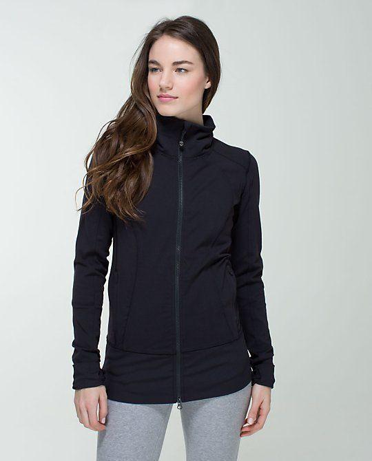 EGUC Lululemon Women's Size 8 Nice Asana Jacket Black