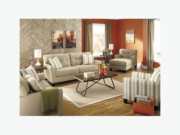 New Laryn Khaki Sofa Collection