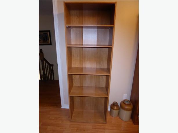 sauder beginnings 5 shelf bookcase orleans ottawa. Black Bedroom Furniture Sets. Home Design Ideas