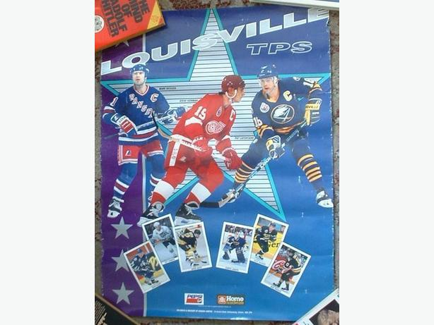 Home Hardware/Pepsi Hockey Poster Yzerman Messier
