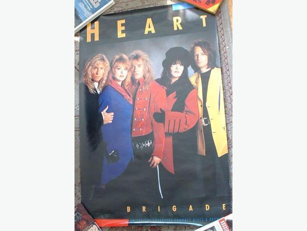 Heart Poster 1990