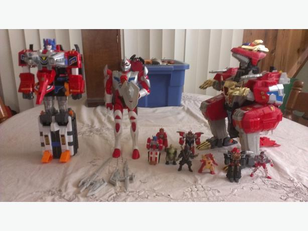 Super Human Samurai Syber-Squad Toys / Action figures