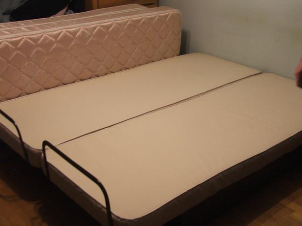 TWO SLUMBER-MAGIC ELECTRIC ADJUSTABLE BEDS, SINGLE SIZE (PORT ALBERNI)