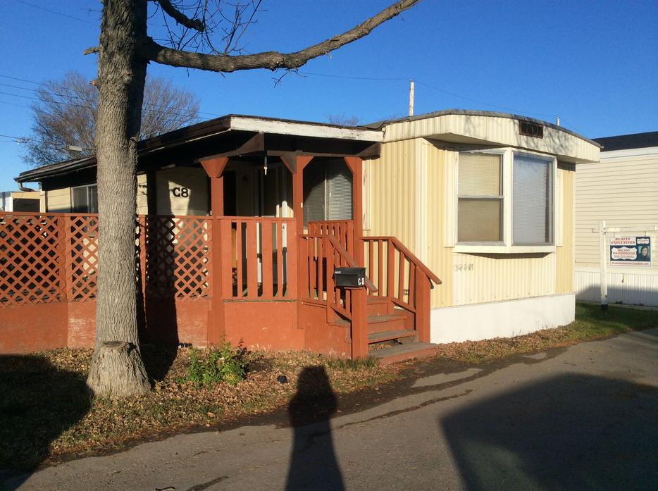 For sale 2bdr mobile home w sunroom attached deck for Sunroom attached to house