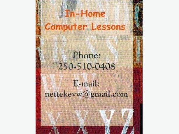 In-Home Computer Lessons / Webdesign