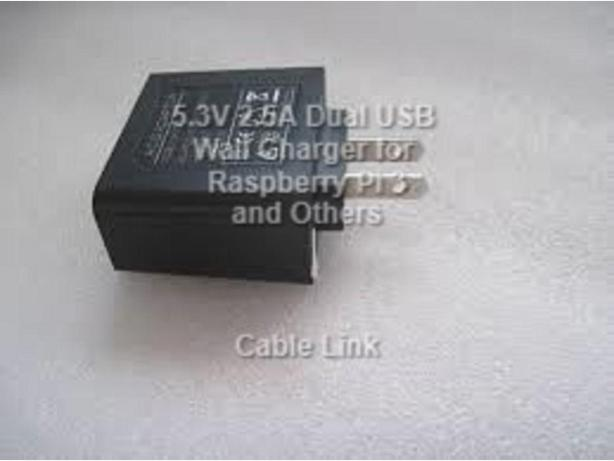  Log In needed $15 · New 5 3V 2 5A Dual USB Wall Travel Charger for  Raspberry Pi, Tablet
