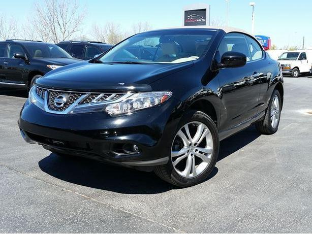 2011 Nissan Murano Convertible CrossCabriolet AWD