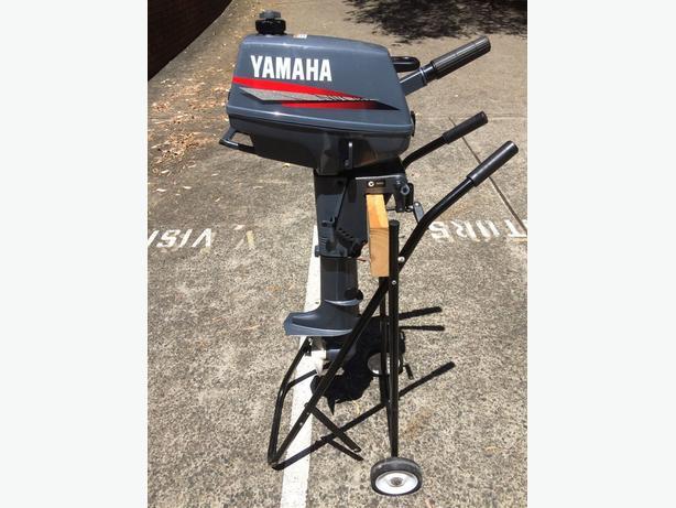 3amhs Yamaha 2 Stroke 3hp Short Shaft Portable Outboard