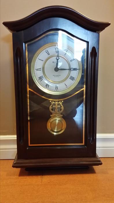 bulova westminster quartz chiming wall clock kelowna okanagan