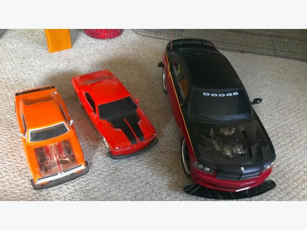 3 Dodge RC Cars