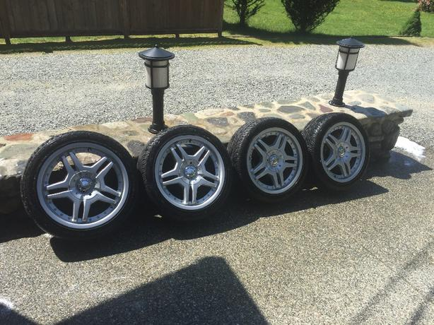 car tires and rims