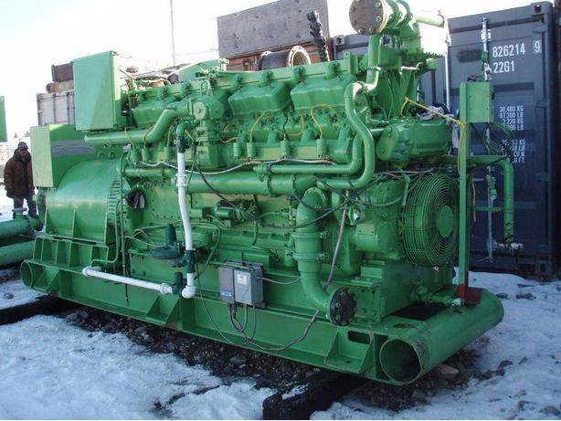 NATURAL GAS CATERPILLAR 399 GENERATOR 800 Kw