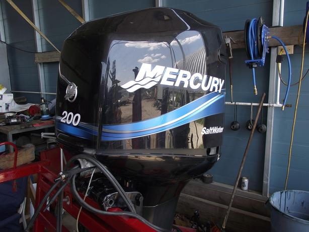 200HP MERCURY OFFSHORE EXTRA LONG