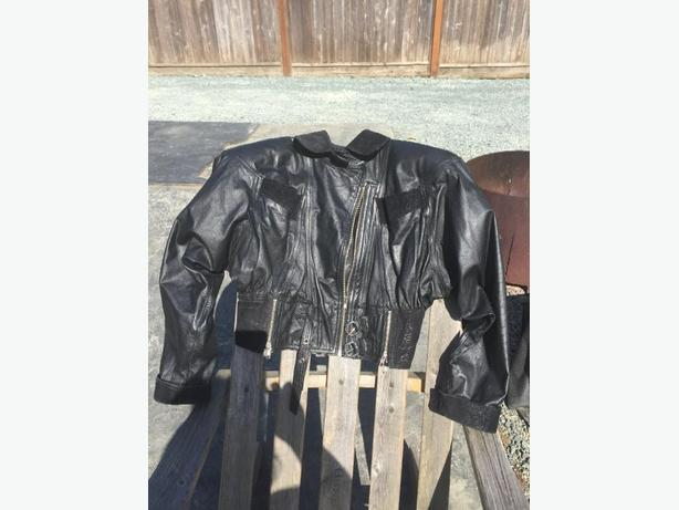 leather & suede ladies medium jacket